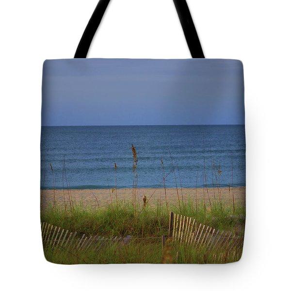 The Sea Shore Line Tote Bag