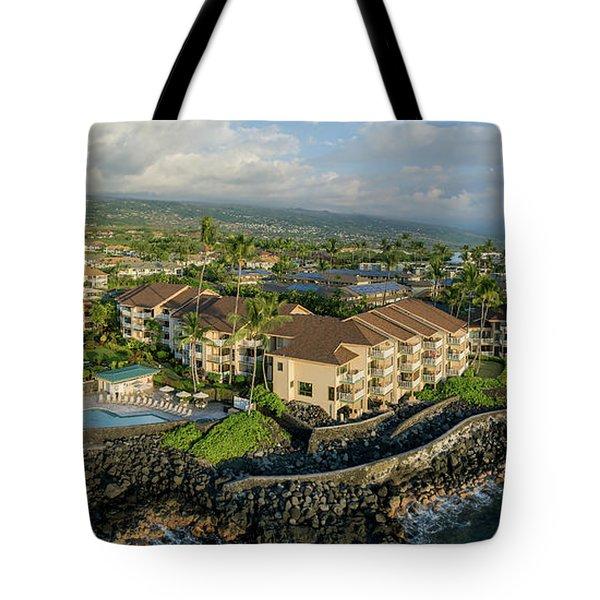 The Sea Village Tote Bag