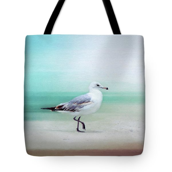 The Seagull Strut Tote Bag