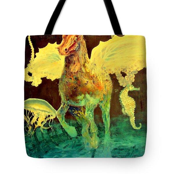 The Seahorse Tote Bag
