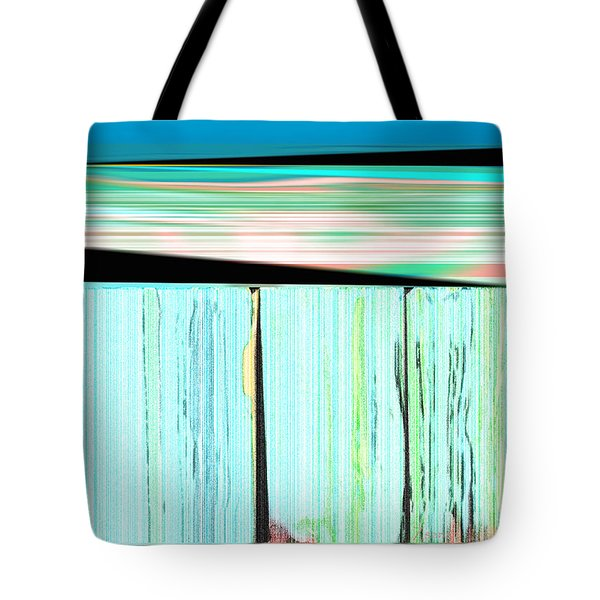 The Seawalls No. 1 Sunrise Tote Bag
