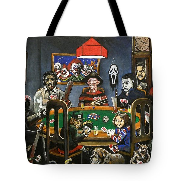 The Second Horror Game Tote Bag