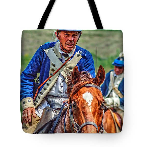 The Second Regiment Light Dragoons 004 Tote Bag