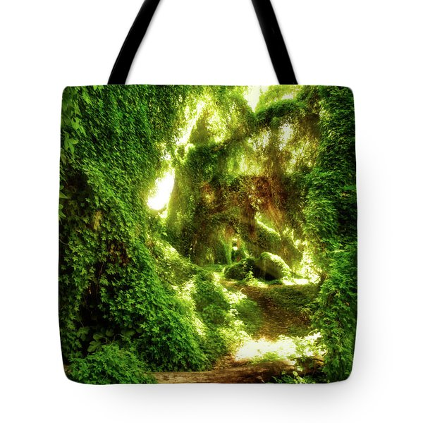 Tote Bag featuring the photograph The Secret Garden, Perth by Dave Catley