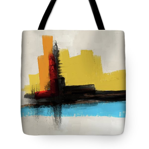 Tote Bag featuring the mixed media The Secret Island by Eduardo Tavares
