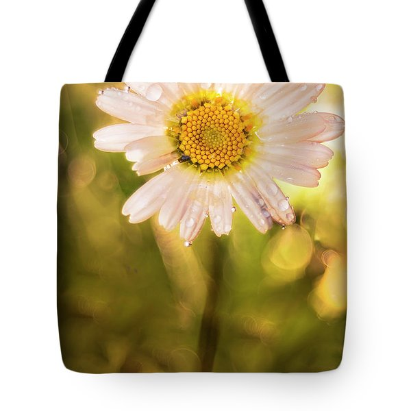 The Secret Language Of Flowers Tote Bag