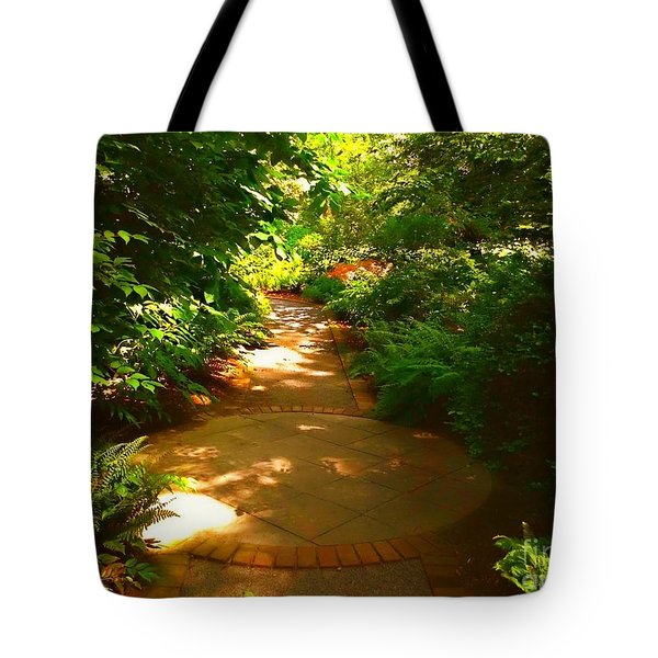 The Secret Path Tote Bag by Becky Lupe