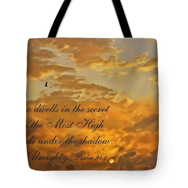 The Secret Place Tote Bag