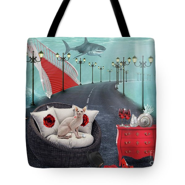 The Secret.. Tote Bag by Prar Kulasekara