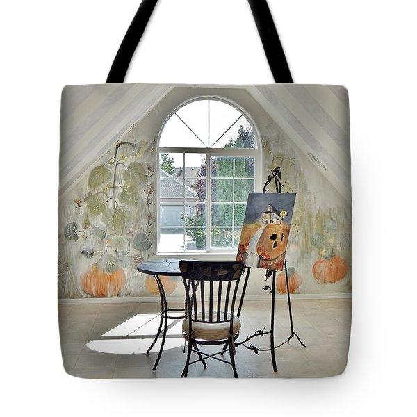 The Secret Room Tote Bag