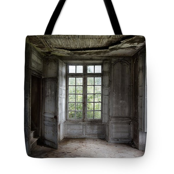 The Secret Stairs To Heaven - Abandoned Building Tote Bag