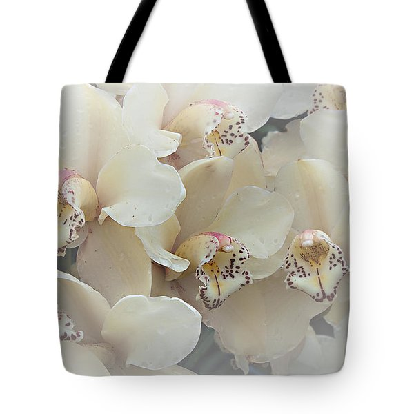 The Secret To Orchids Tote Bag by Sherry Hallemeier