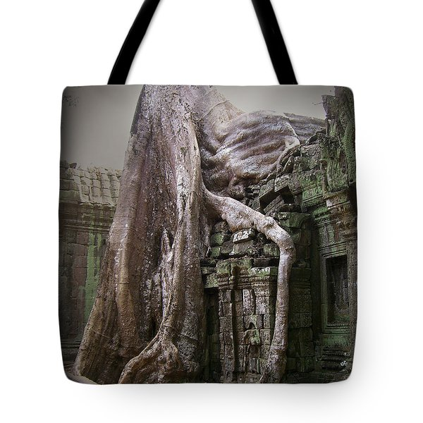 The Secrets Of Angkor Tote Bag by Eena Bo