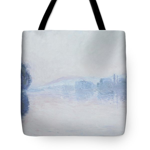 The Seine Near Vernon Tote Bag by Claude Monet