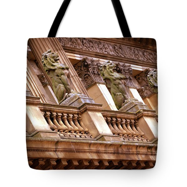 Tote Bag featuring the photograph The Sentinels by Baggieoldboy