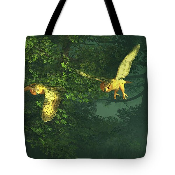 The Sentinels Of Night Tote Bag