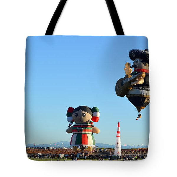 Tote Bag featuring the photograph The Serenade by AJ Schibig