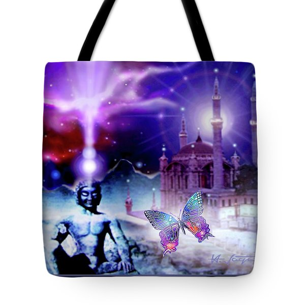 The Serenity Of Wisdom... Tote Bag