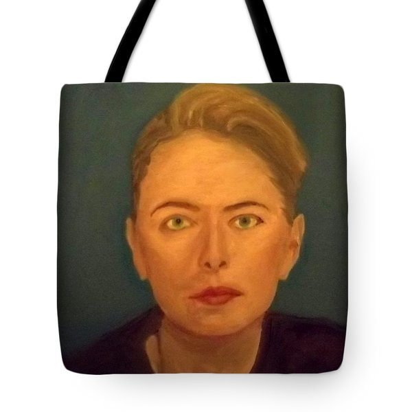 The Serious Lady Tote Bag