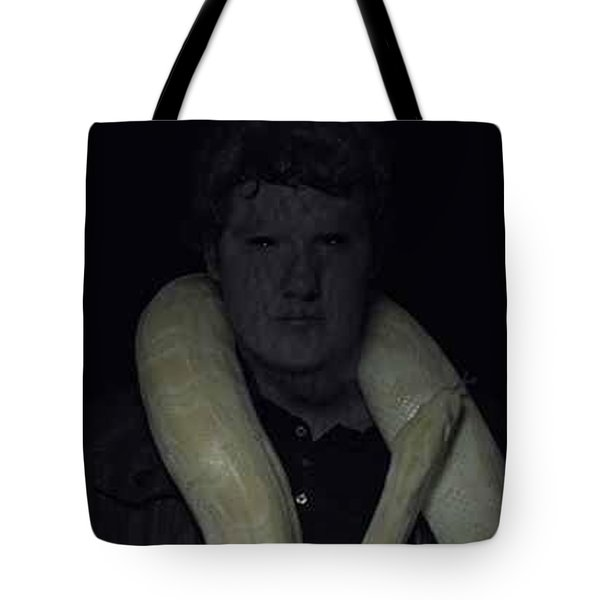 The Serpent Tote Bag by Michael Baker