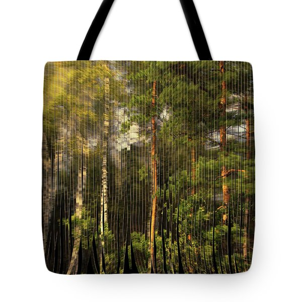 The Serpentine Forest Tote Bag