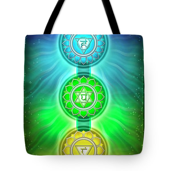 The Seven Chakras - Series 2 Tote Bag