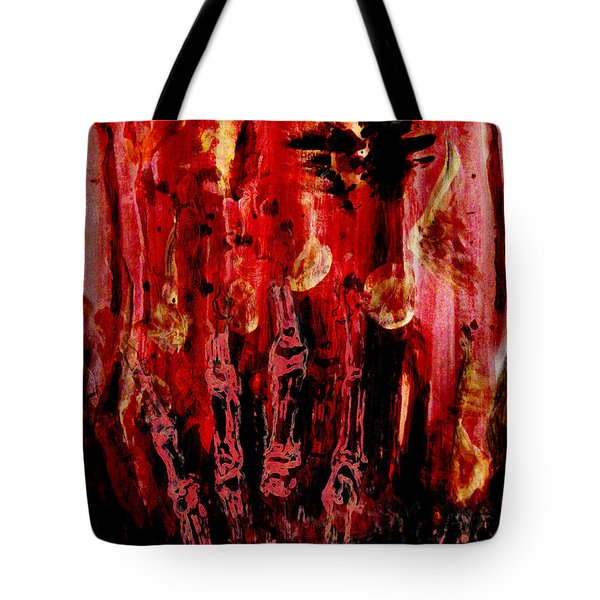 The Seven Deadly Sins - Wrath Tote Bag