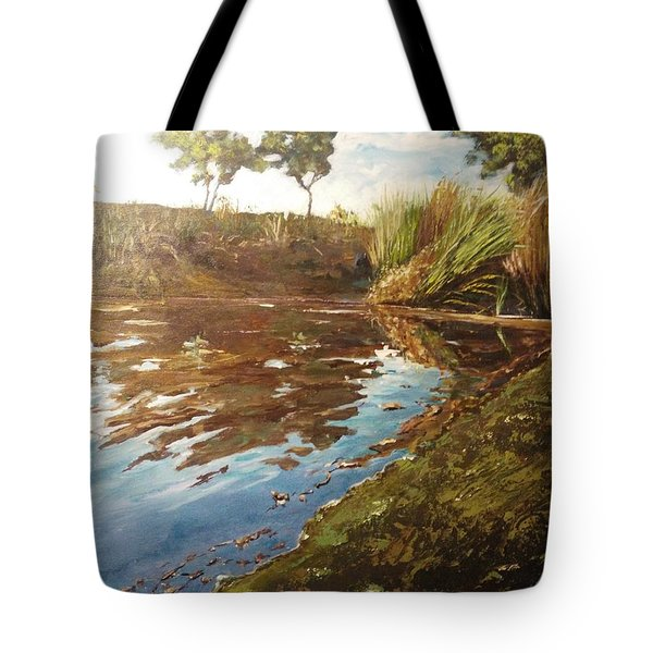 The Seven Lakes Tote Bag