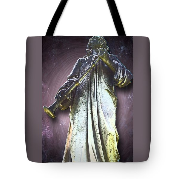 The Seventh Trumpet Tote Bag