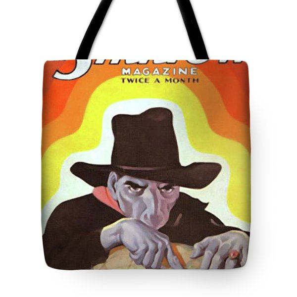 The Shadow Fingers Of Death Tote Bag