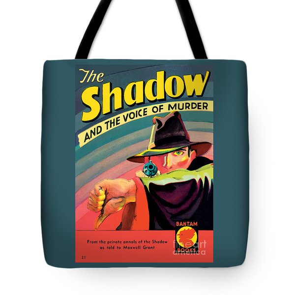 Tote Bag featuring the painting The Shadow by George Rozen