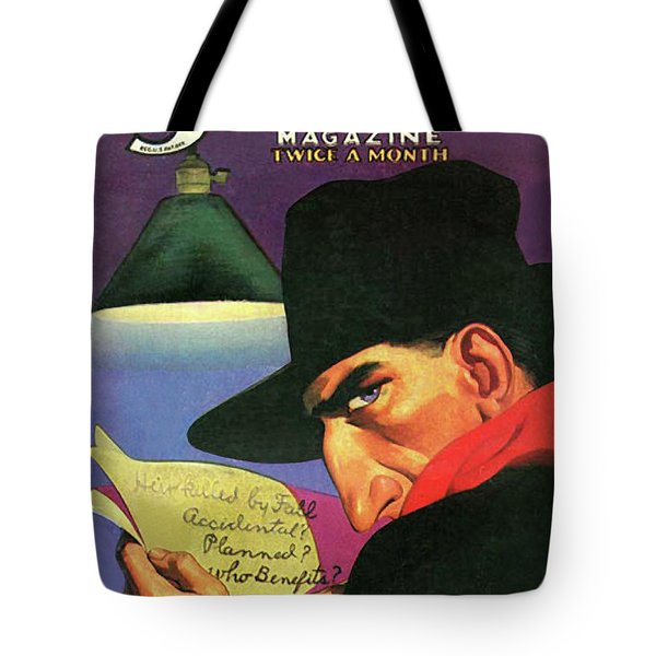 The Shadow Ghost Of The Manor Tote Bag