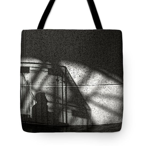 The Shadow Of A Man Tote Bag
