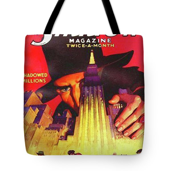 The Shadow Shadowed Millions Tote Bag