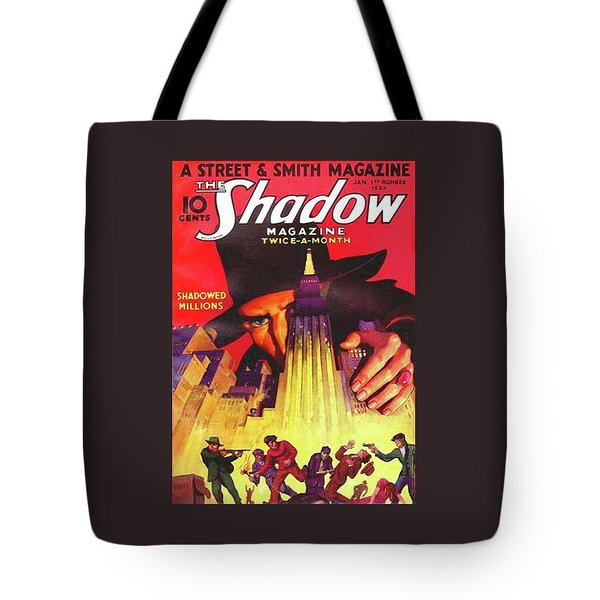 The Shadow Shadowed Millions Tote Bag