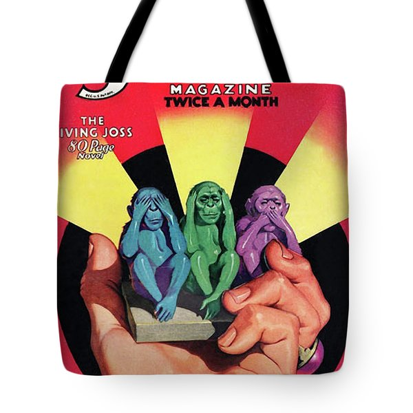 The Shadow The Living Joss Tote Bag