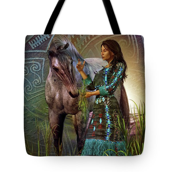 The Horse Whisperer Tote Bag by Shadowlea Is