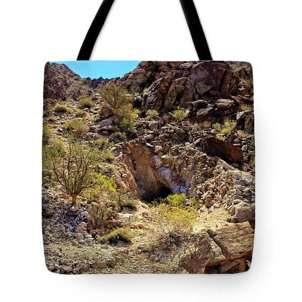 Tote Bag featuring the photograph The Shafted Mine by Robert Bales