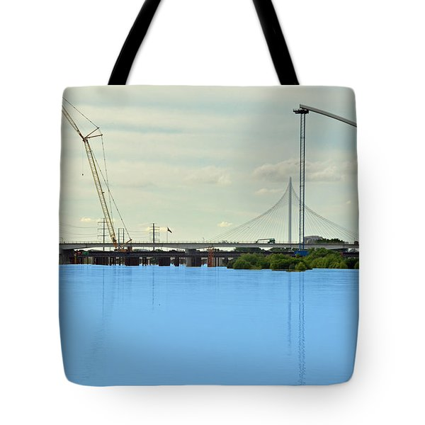 The Shape Of Things To Come Tote Bag