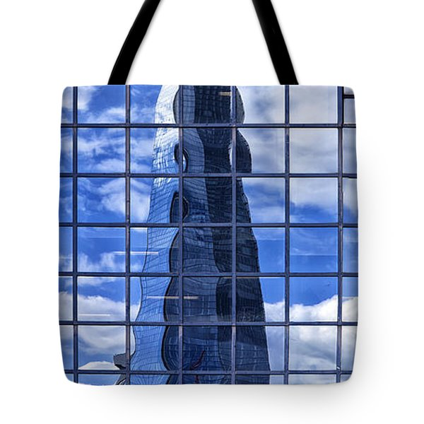 The Shard Tote Bag by Shirley Mitchell