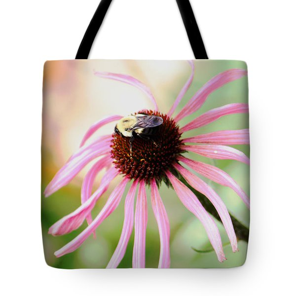 Tote Bag featuring the photograph The Sharing Game by Deborah  Crew-Johnson