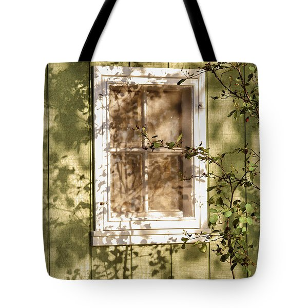 The Shed Window Tote Bag