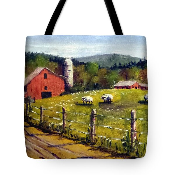 The Sheep Farm Tote Bag