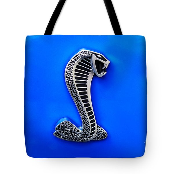 The Shelby Snake Tote Bag