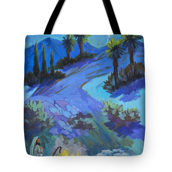 The Shepherds And The Star Tote Bag