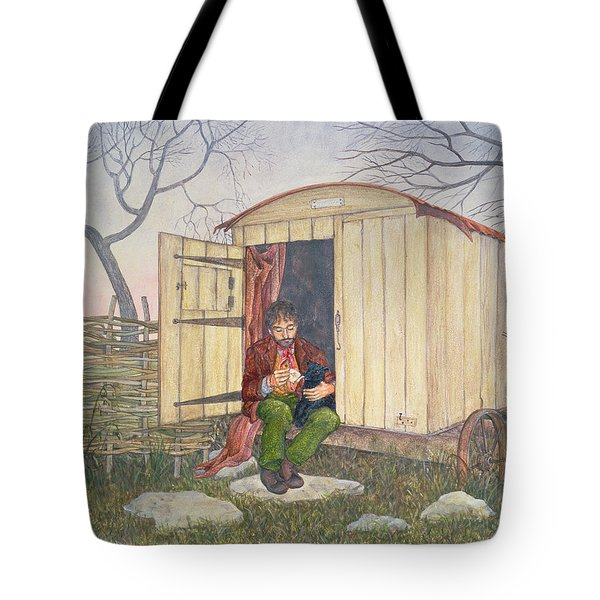 The Shepherd's Hut Tote Bag
