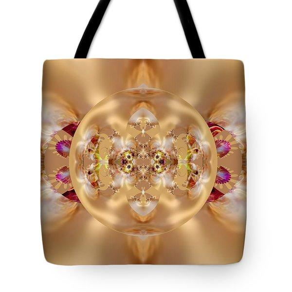 The Shine Of Satin Tote Bag