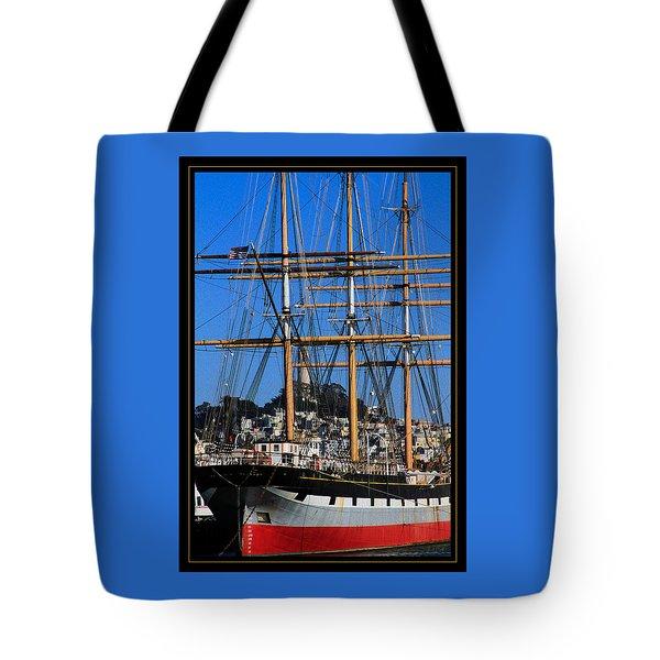 The Ship Balclutha Tote Bag