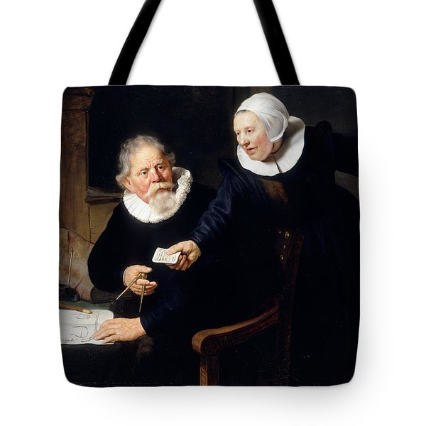 The Shipbuilder And His Wife Tote Bag