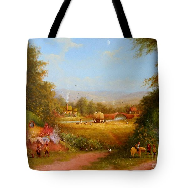 The Shire. Tote Bag by Joe  Gilronan